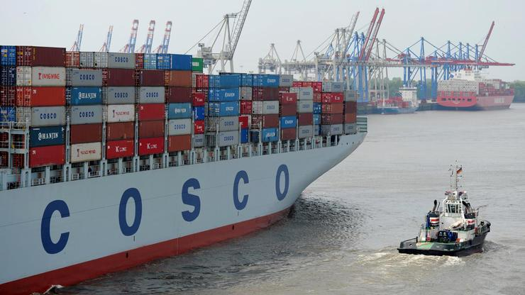 Containerangriff aus China