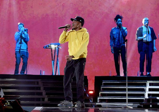 PHOTO: In this Sept. 21, 2019, file photo, Chance the Rapper performs onstage during the 2019 iHeartRadio Music Festival at T-Mobile Arena in Las Vegas. (Kevin Mazur/Getty Images for iHeartMedia, FILE)