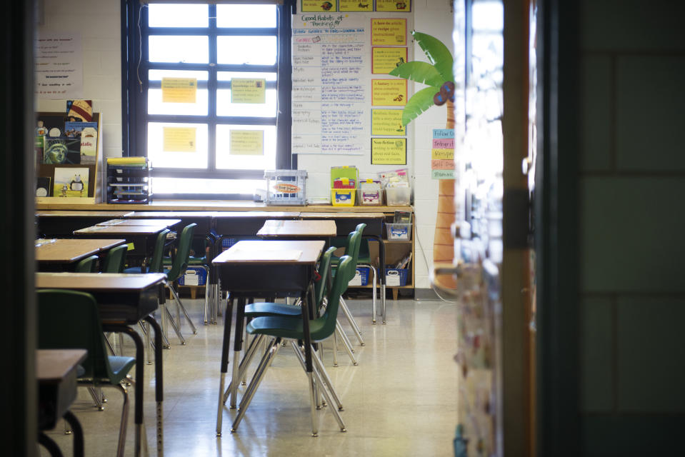 """A teacher is Florida allegedly told his class that he would be """"the best school shooter."""" (Photo: Getty Images)"""