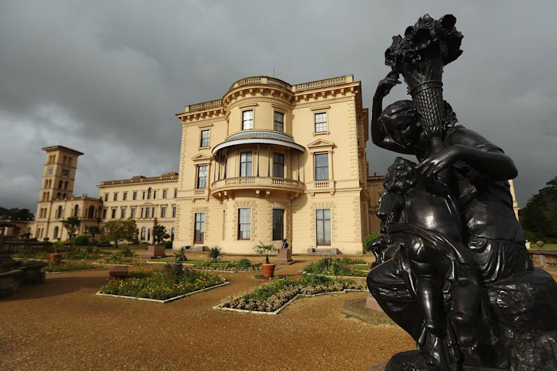 English Heritage Prepare Queen Victoria's Private Beach At Osborne House To Open To The Public
