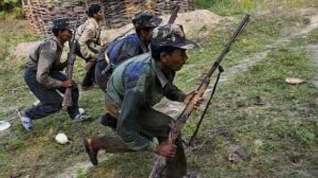 Troops of the 7th battalion of the Central Reserve Police Force (CRPF) today carried out a special operation in the forest area of Belbha Ghat. Officials said that three bodies of Maoists along with an AK-47 Rifle, three bullet magazines, and four pipe bombs have been recovered from the encounter site till now.