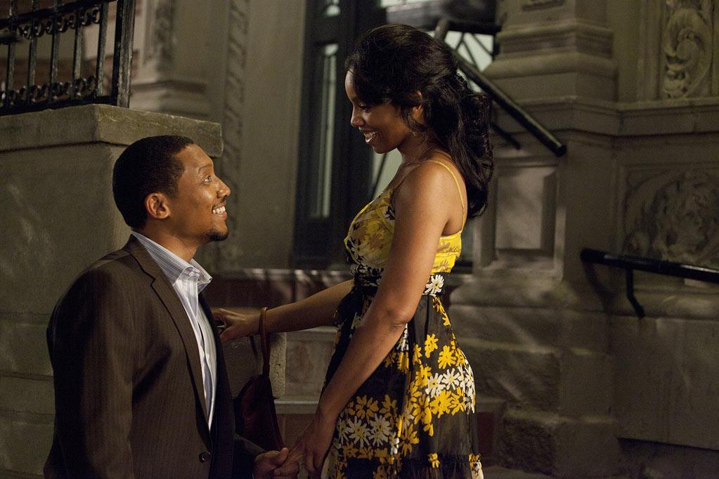 """<a href=""""http://movies.yahoo.com/movie/contributor/1800169871"""">Khalil Kain</a> and <a href=""""http://movies.yahoo.com/movie/contributor/1808489830"""">Anika Noni Rose</a> in Lionsgate's <a href=""""http://movies.yahoo.com/movie/1810076902/info"""">For Colored Girls</a> - 2010"""
