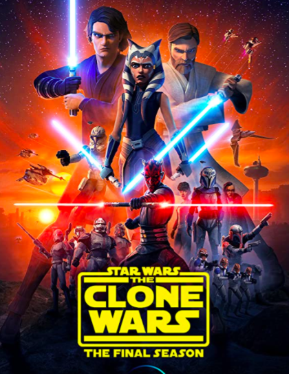 """After months and months of watching each 20-episode during lunch time or dinner time, I finally finished the epic series (from Mace Windu to Anakin Skywalker) which had an outstanding finale season (released in 2020). The Jedi masters come to life to fight the new droid army of the Separatist. As one of the best animated series I have ever seen, this one is a must watch for every Star Wars fan. You can watch it on <a href=""""https://www.hotstar.com/in/tv/star-wars-the-clone-wars/s-2446"""" rel=""""nofollow noopener"""" target=""""_blank"""" data-ylk=""""slk:Disney+Hostar"""" class=""""link rapid-noclick-resp"""">Disney+Hostar</a>"""