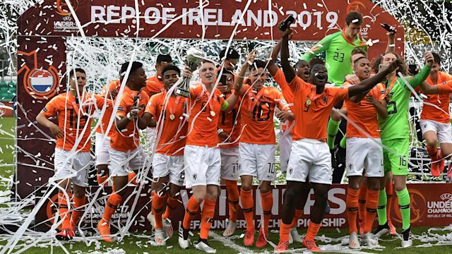 The Dutch ran out comfortable winners against Italy in Dublin in what was a re-run of last year's final in Rotherham