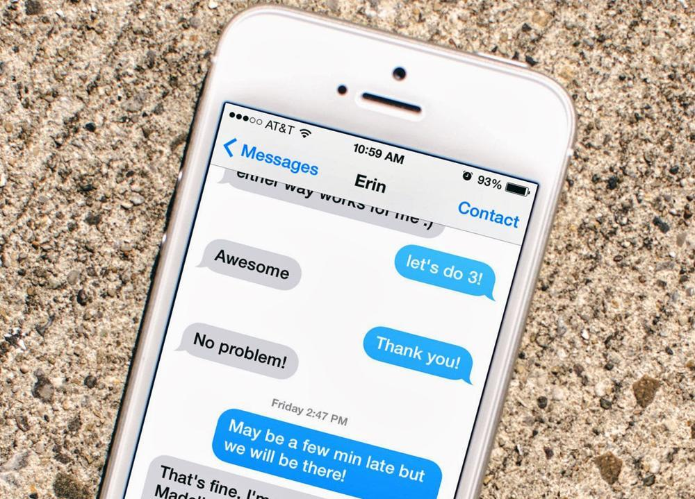 There's a new BBM for iOS feature that will actually make iMessage
