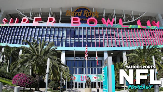 Hard Rock Stadium in Miami, Florida is set to host Super Bowl LIV on Sunday. (Photo by Rich Graessle/PPI/Icon Sportswire via Getty Images)