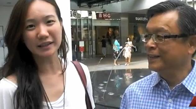 NSP's Nicole Seah endorses Tan Jee Say for President. (Screencap from YouTube)