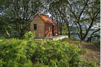 """<p>If you've never stayed in a bothy, rest assured once you do you'll never want to camp outside ever again. Inverlonan's bothies are only accessible by foot, boat or buggy and are situated overlooking Lock Nell in Oban, Scotland.</p><p>Both properties – Uisge Both and Beatha Bothy – have private decks, open fire pits, outdoor wood-fired pizza ovens, private eco-toilets and outdoor showers. </p><p>During the day, you can choose to hop in a canoe or onto a paddleboard to explore the stunning vistas or hike and wild swim. The possibilities here for outdoor fun are endless. </p><p><strong>Bothie for 2 from £400 (two nights) </strong></p><p><a class=""""link rapid-noclick-resp"""" href=""""https://www.inverlonan.com/"""" rel=""""nofollow noopener"""" target=""""_blank"""" data-ylk=""""slk:BOOK ONLINE"""">BOOK ONLINE</a> </p>"""