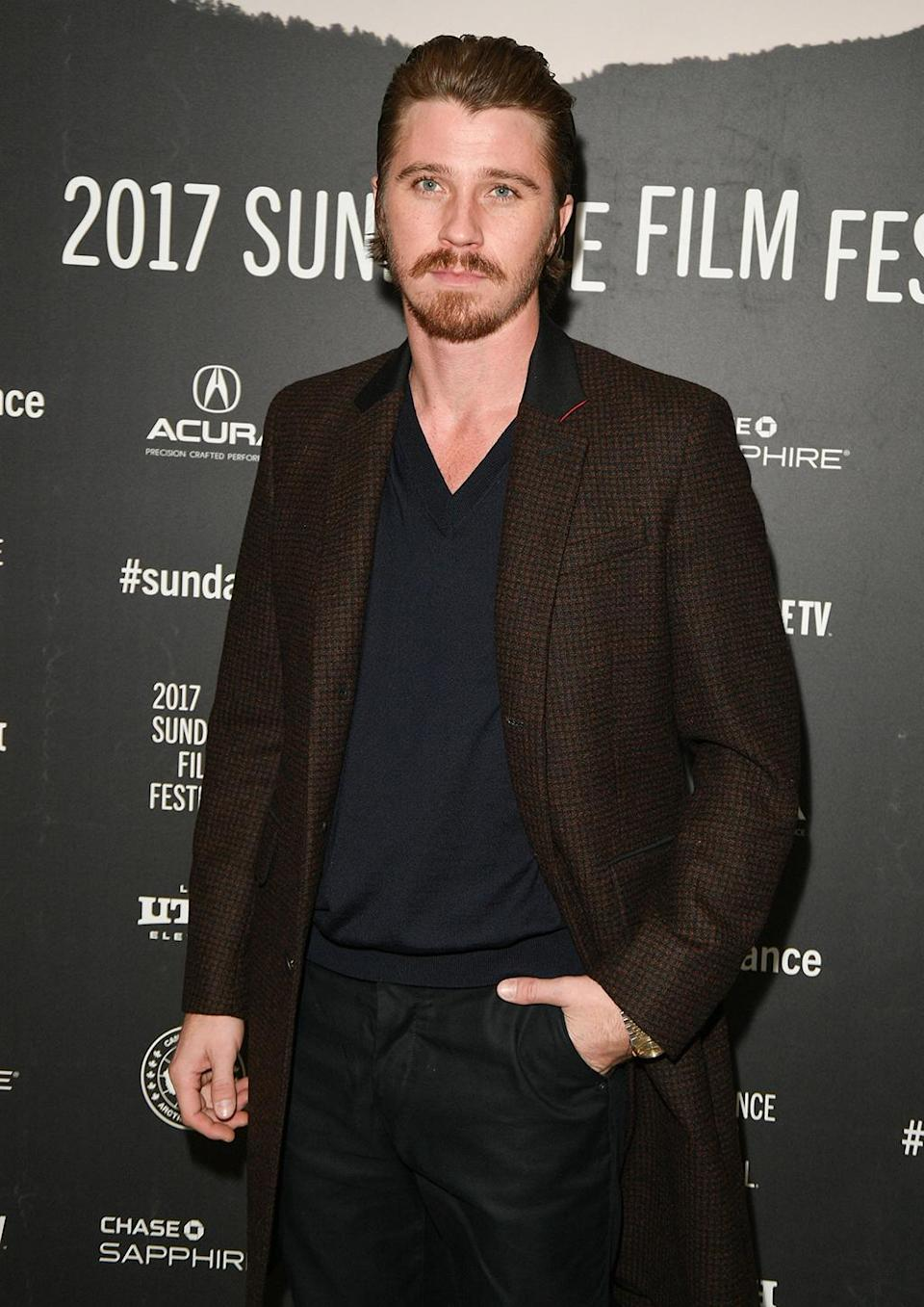 <p>The actor attends the 'Mudbound' premiere. (Photo: George Pimentel/Getty Images) </p>