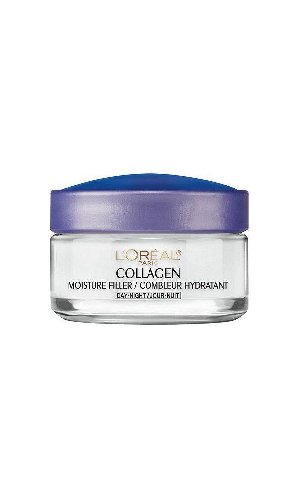 """<p><strong>L'Oreal Paris</strong></p><p>target.com</p><p><strong>$9.99</strong></p><p><a href=""""https://www.target.com/p/l-39-oreal-paris-collagen-moisture-filler-daily-moisturizer-unscented-1-7oz/-/A-80039307"""" rel=""""nofollow noopener"""" target=""""_blank"""" data-ylk=""""slk:Shop Now"""" class=""""link rapid-noclick-resp"""">Shop Now</a></p><p>Fragrance-free, tested on sensitive skin, and under $15, this is the ultimate starter moisturizer for anyone dipping their toes into serious skincare.</p>"""