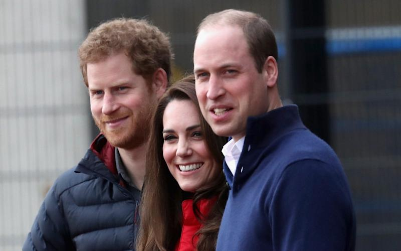 The Duke & Duchess Of Cambridge And Prince Harry are to represent Heads Together at the London Marathon