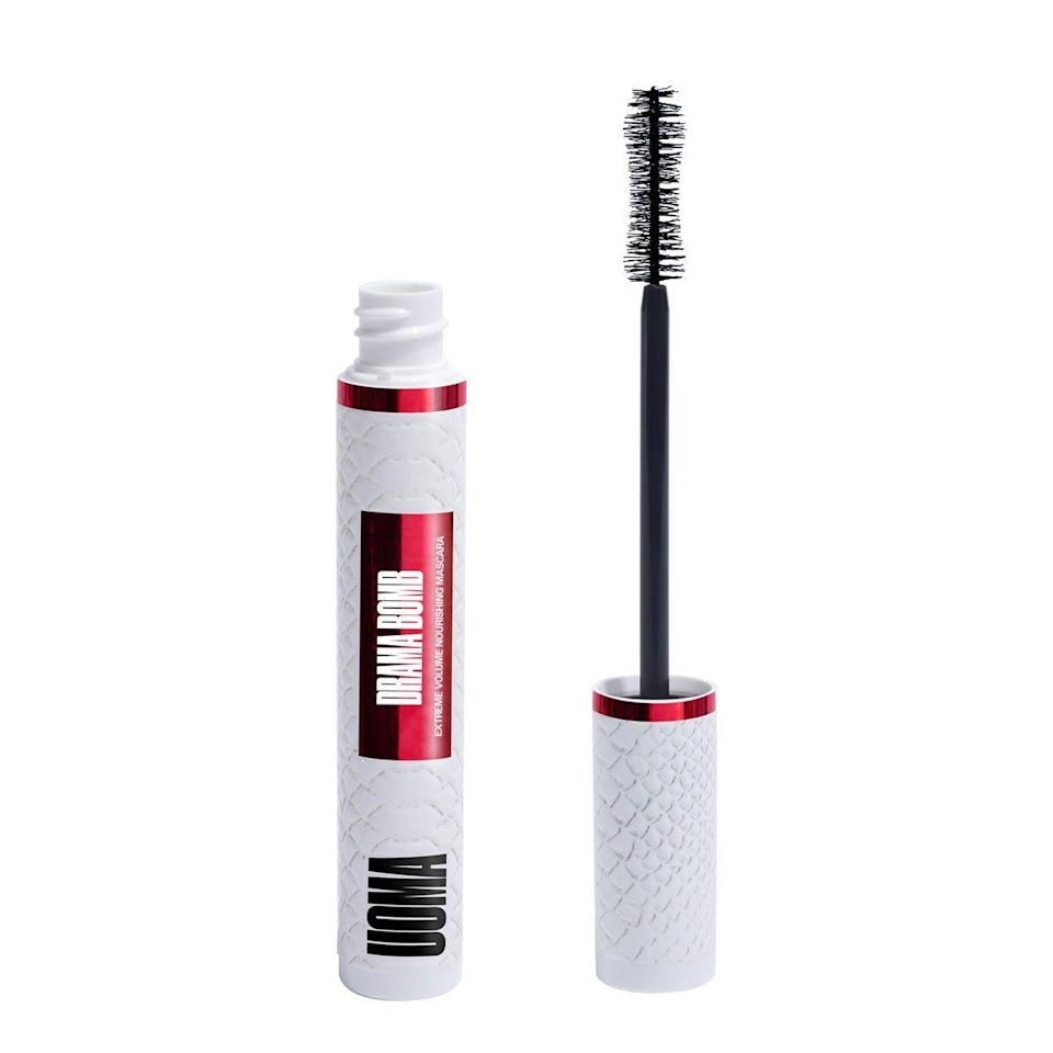 "<p><strong>Drama Bomb Extreme Volume Mascara</strong></p><p>uomabeauty.com</p><p><strong>$19.50</strong></p><p><a href=""https://uomabeauty.com/products/drama-bomb-extreme-volume-nourishing-mascara?variant=33067532877923"" rel=""nofollow noopener"" target=""_blank"" data-ylk=""slk:Shop Now"" class=""link rapid-noclick-resp"">Shop Now</a></p><p>There will be discounts up to 80% <a href=""https://uomabeauty.com/"" rel=""nofollow noopener"" target=""_blank"" data-ylk=""slk:sitewide"" class=""link rapid-noclick-resp"">sitewide</a>, include brand's newest drop, <a href=""https://uomabeauty.com/products/drama-bomb-extreme-volume-nourishing-mascara?variant=33067532877923"" rel=""nofollow noopener"" target=""_blank"" data-ylk=""slk:The Drama Bomb Extreme Volume Mascara"" class=""link rapid-noclick-resp"">The Drama Bomb Extreme Volume Mascara</a> for just $10.</p>"