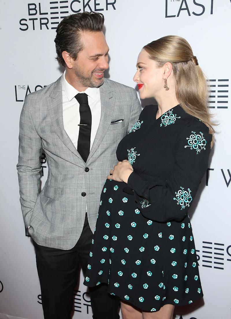 Newlyweds Amanda Seyfried and Thomas Sadoski Welcome Their First Baby!