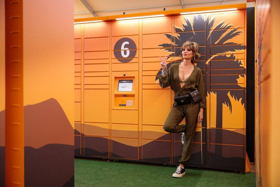 Lisa Rinna at Coachella