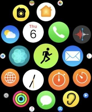 Apple Watch exercise routine