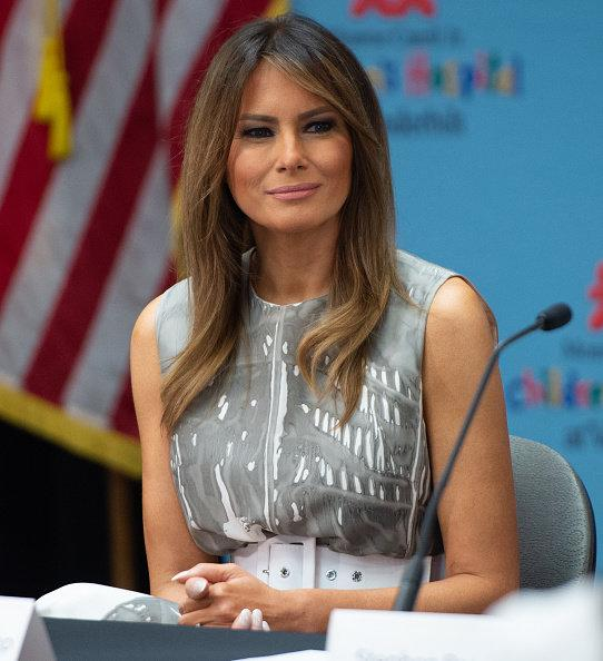 <p>Melania Trump Press Conference</p>