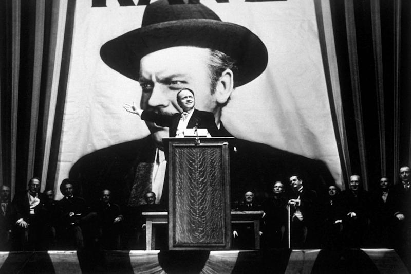 Orson Welles in Citizen Kane (Getty Images)