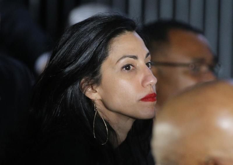 Huma Abedin's documents on husband's computer released