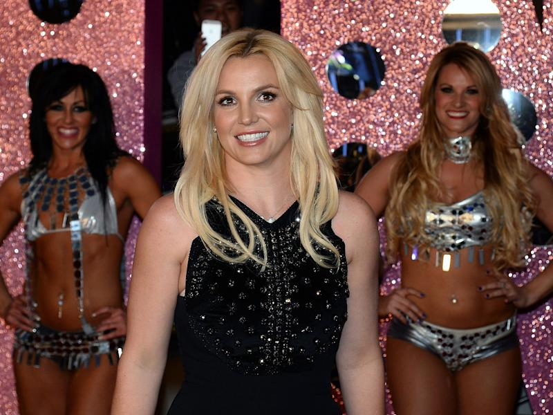 britney spears las vegas showgirls