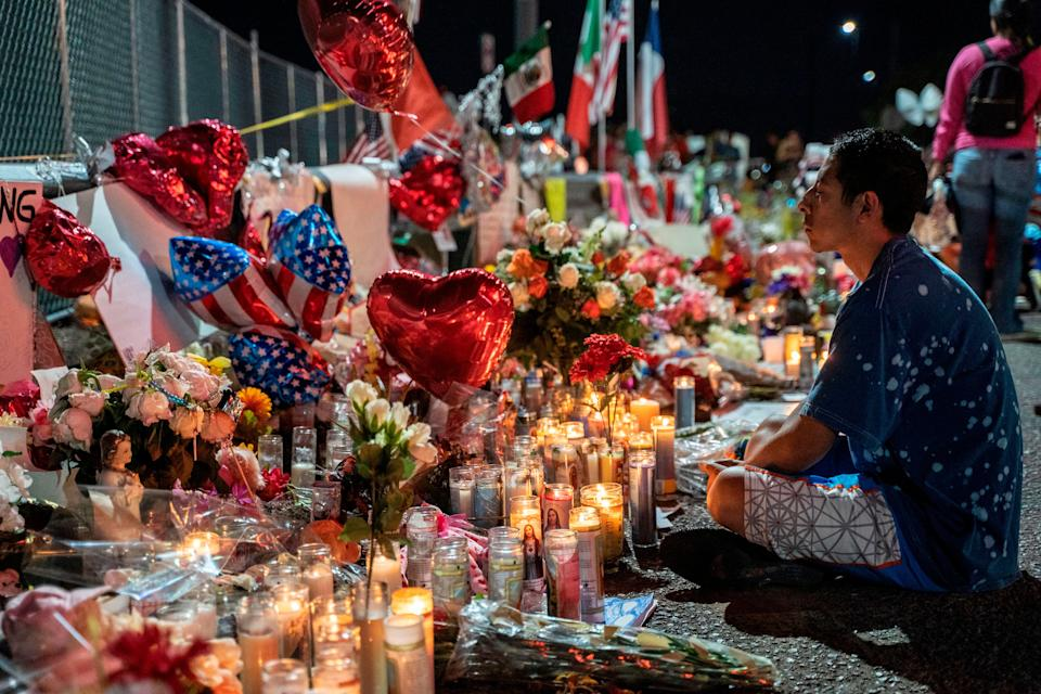 <p>Twenty three were killed in a mass shooting in El Paso, Texas, on August 2 2019</p>AFP via Getty Images