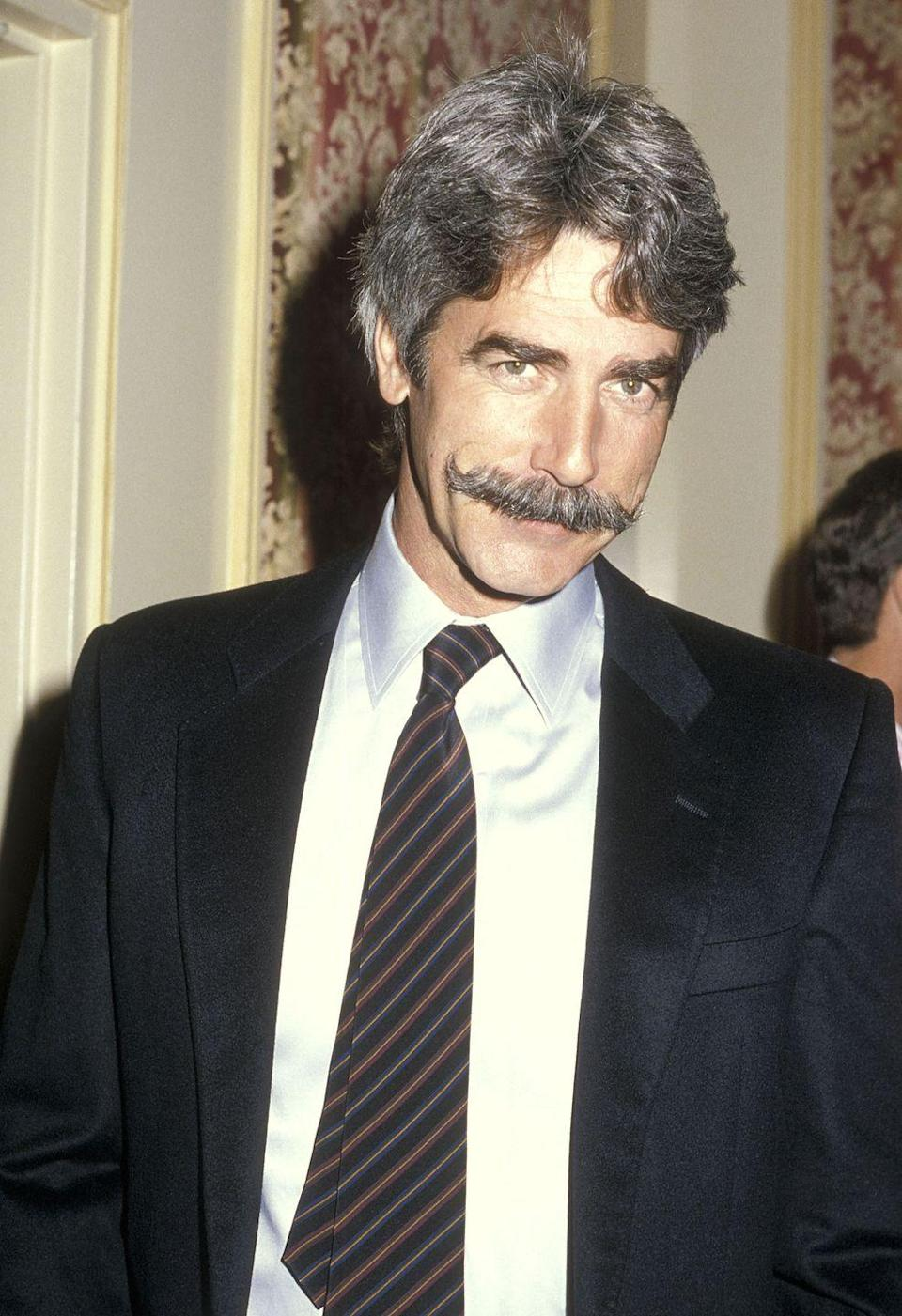 <p>Elliott attends the Hollywood Women's Press Club's 45th Annual Golden Apple Awards on December 8, 1985, at the Beverly Wilshire Hotel in Beverly Hills, California</p>