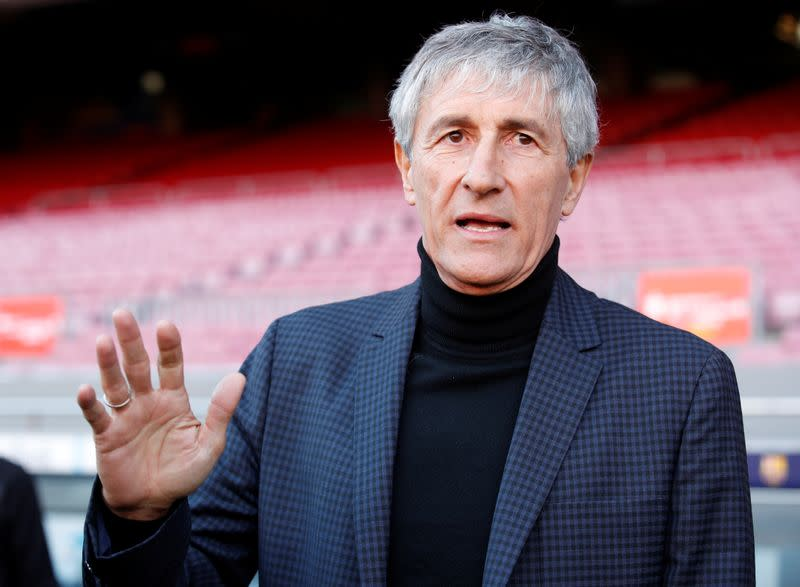 From cow fields to Camp Nou, new Barca boss Setien aims high