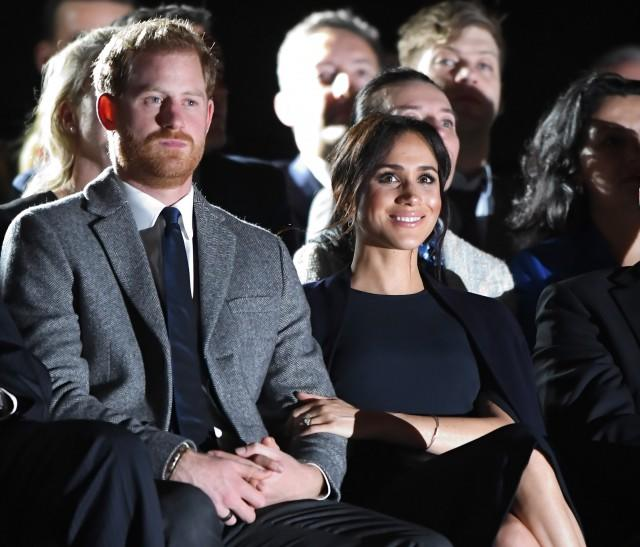 The 34-year-old royal is clearly excited to be a dad.