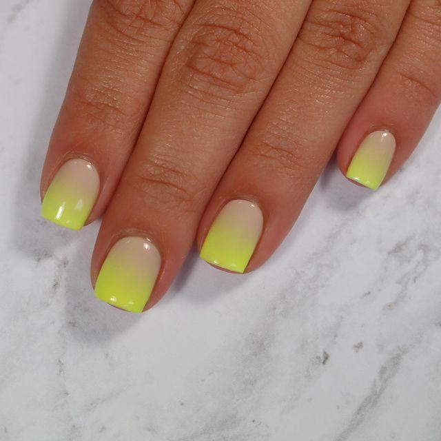 """<p>Dip your toe (or fingertips) in the <a href=""""https://www.cosmopolitan.com/uk/beauty-hair/nails/g28165158/neon-nails/"""" rel=""""nofollow noopener"""" target=""""_blank"""" data-ylk=""""slk:neon nail trend"""" class=""""link rapid-noclick-resp"""">neon nail trend</a> with this fluro ombre design.</p><p><a href=""""https://www.instagram.com/p/BzefjZbJK1O/"""" rel=""""nofollow noopener"""" target=""""_blank"""" data-ylk=""""slk:See the original post on Instagram"""" class=""""link rapid-noclick-resp"""">See the original post on Instagram</a></p>"""