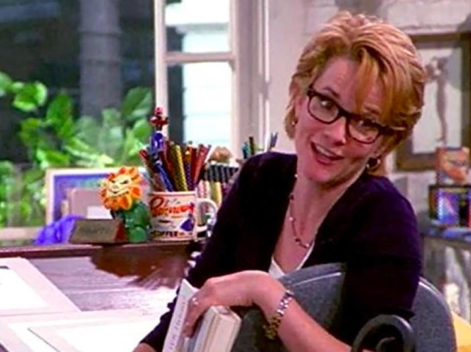 """The NBC comedy <i>Caroline in the City</i> (1995-1999) stars<strong> Lea Thompson </strong>as a successful cartoonist, Caroline, with a love life that's all over the place. She and her colorist, Richard (<strong>Malcolm Gets</strong>), have a thing for each other and can never get the timing right. In fact, after four seasons, the show was cancelled and <a href=""""https://www.cinemablend.com/television/12-TV-Cliffhanger-Finales-Still-Drive-Us-Crazy-71500.html"""" rel=""""nofollow noopener"""" target=""""_blank"""" data-ylk=""""slk:ended on a cliffhanger"""" class=""""link rapid-noclick-resp"""">ended on a cliffhanger</a> with Richard showing up at Caroline's wedding to someone else."""