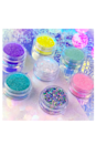 """<p>midascosmetics.com</p><p><strong>$2020.00</strong></p><p><a href=""""https://midascosmetics.com/collections/shop-online-glitter-collections/products/queremos-pastel-glitter-collection"""" rel=""""nofollow noopener"""" target=""""_blank"""" data-ylk=""""slk:Shop Now"""" class=""""link rapid-noclick-resp"""">Shop Now</a></p><p>Sooooo that cheapy glitter that's 99 cents from the craft store? Yeah, that's the stuff that'll cut up your skin and leave it irritated. These glitters, however, are PET (polyethylene terephthalate)—<strong>a soft plastic specifically cut to reduce the risk of scratching your skin</strong>. Highly recommend dabbing these glitters all over to complete your <a href=""""https://www.cosmopolitan.com/style-beauty/beauty/a21604059/mermaid-halloween-makeup-tutorial/"""" rel=""""nofollow noopener"""" target=""""_blank"""" data-ylk=""""slk:mermaid makeup look"""" class=""""link rapid-noclick-resp"""">mermaid makeup look</a> this Halloween.</p>"""