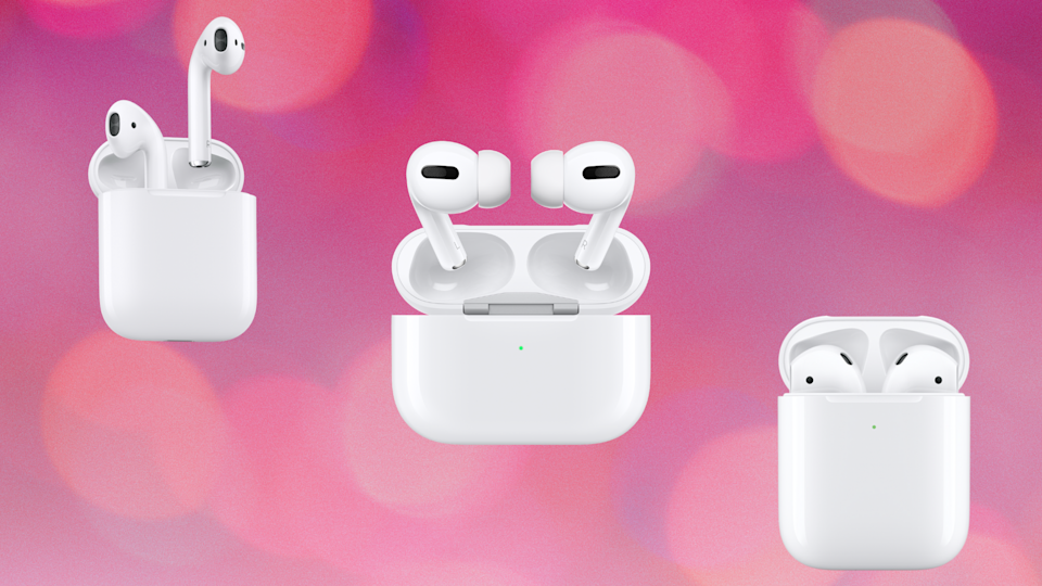 Nearly all of the AirPods models are on sale for Prime Day — at epically low prices.  (Photo: Amazon)