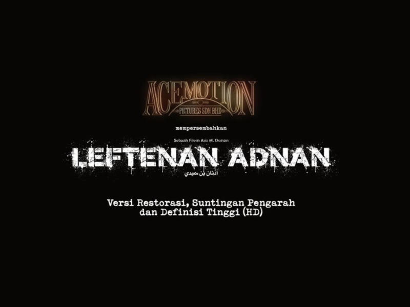 "2020 marks the 20th anniversary of ""Leftenan Adnan"
