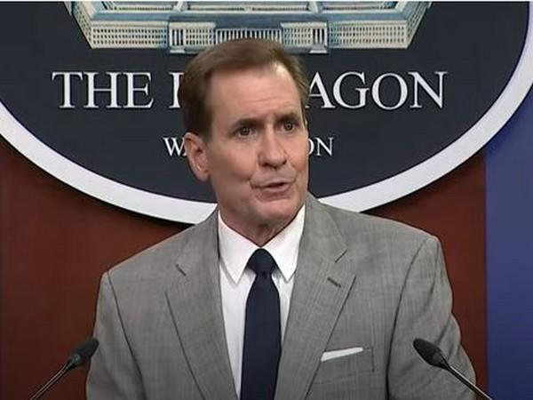 John Kirby, US Assistant to the Secretary of Defense for Public Affairs. (File Photo)
