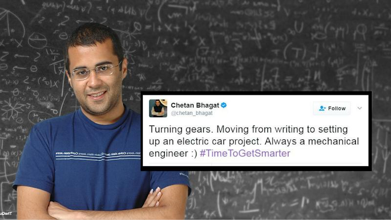 I'll Make Electric Cars but WON'T Stop Writing: Chetan Bhagat