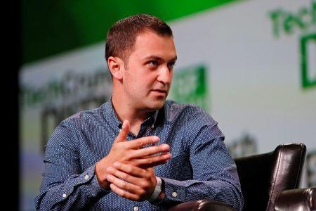 John Zimmer, co-founder and president of Lyft, speaks on stage during a Founders Stories session at TechCrunch Disrupt SF 2013 in San Francisco, California September 9, 2013. REUTERS/Stephen Lam