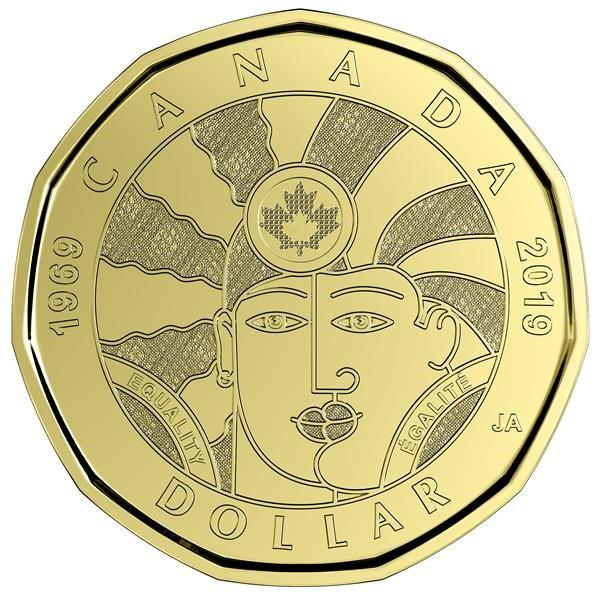 Commemorative loonie marking progress for LGBTQ2 people unveiled in Toronto