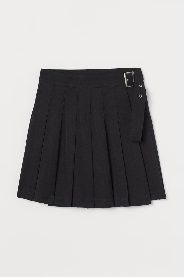 <p>The miniskirt is making a comeback, and we are here for it. This <span>H&amp;M Pleated Skirt</span> ($25) looks great with a tank or baby tee.</p>