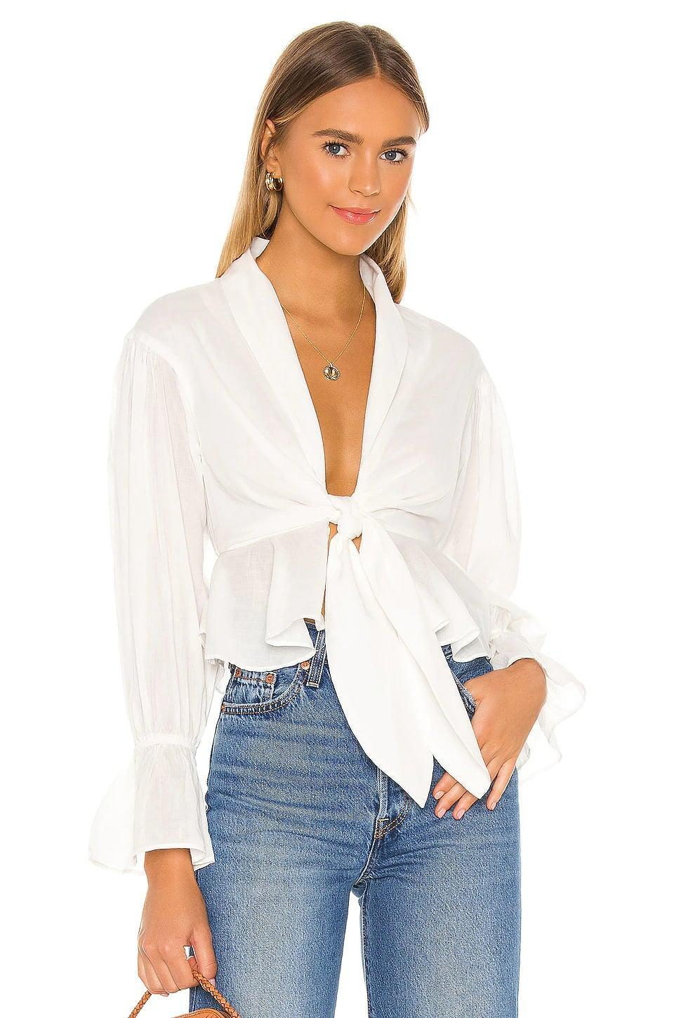 <p>This <span>Lovers + Friends Ash Top</span> ($145) is both sexy and sophisticated.</p>