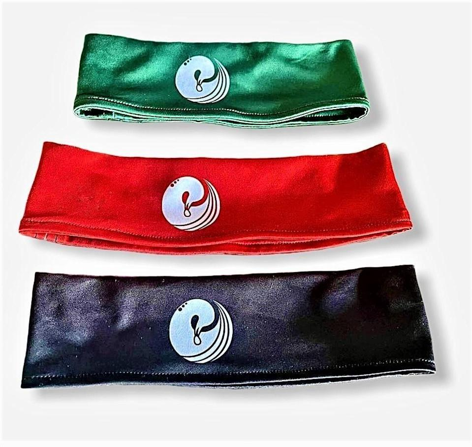 """<p><strong>Sankofa Athletics</strong></p><p>Sankofa Athletics</p><p><strong>$12.00</strong></p><p><a href=""""https://sankofaathletics.com/collections/headbands/products/headbands"""" rel=""""nofollow noopener"""" target=""""_blank"""" data-ylk=""""slk:Shop Now"""" class=""""link rapid-noclick-resp"""">Shop Now</a></p><p> If you want some headbands with a special meaning, grab yourself some of these ones. Each band features the Sankofa symbol, which depicts a bird with its head turned backwards to retrieve an egg. It symbolizes the importance of looking back into the past to gather knowledge for the future. We love a motivating message!</p>"""