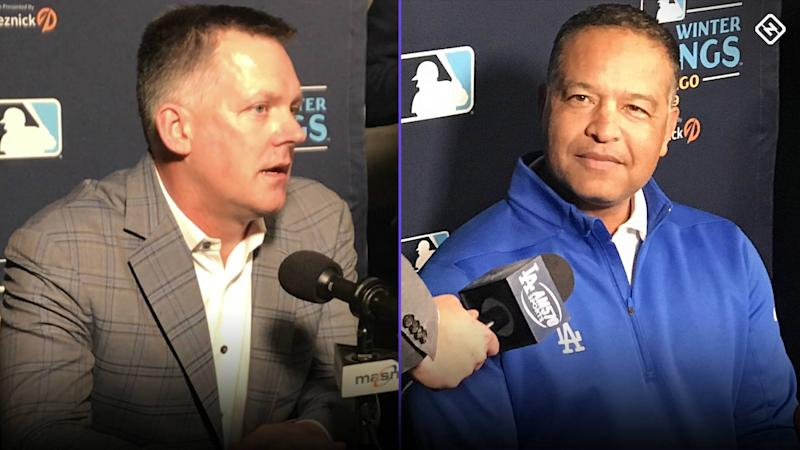 Dave Roberts, A.J. Hinch squirm under barrage of sign-stealing questions