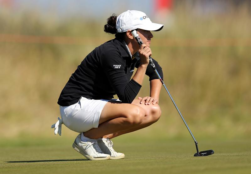 Martin takes 3-shot lead at Women's British Open