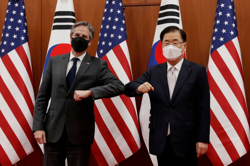 FILE PHOTO: U.S. Secretary of State Blinken meets South Korean counterpart in Seoul