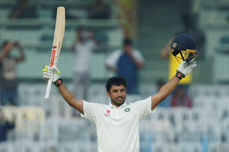 Nair became the 2nd Indian to enter the 300-club