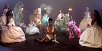 """<p>Beyoncé has finally released her new visual album 'Black is King' on Disney+, and the stunning project is stacked with celebrity cameos from Queen B's famous friends and collaborators. Of course, the real <a href=""""https://www.elle.com/culture/music/a33480979/blue-ivy-carter-black-is-king-cameos/"""" rel=""""nofollow noopener"""" target=""""_blank"""" data-ylk=""""slk:scene stealer"""" class=""""link rapid-noclick-resp"""">scene stealer</a> was 8-year-old Blue Ivy Carter, whose appearance in the trailer threw <a href=""""https://www.elle.com/culture/celebrities/a33469286/blue-ivy-carter-beyonce-black-is-king-trailer-appearance/"""" rel=""""nofollow noopener"""" target=""""_blank"""" data-ylk=""""slk:Twitter"""" class=""""link rapid-noclick-resp"""">Twitter</a> into a frenzy. But stars like Naomi Campbell, Lupita Nyong'o, Pharrell Williams, and more definitely deserve honorable mentions. </p><p>Here, every celebrity cameo in 'Black is King.' </p>"""