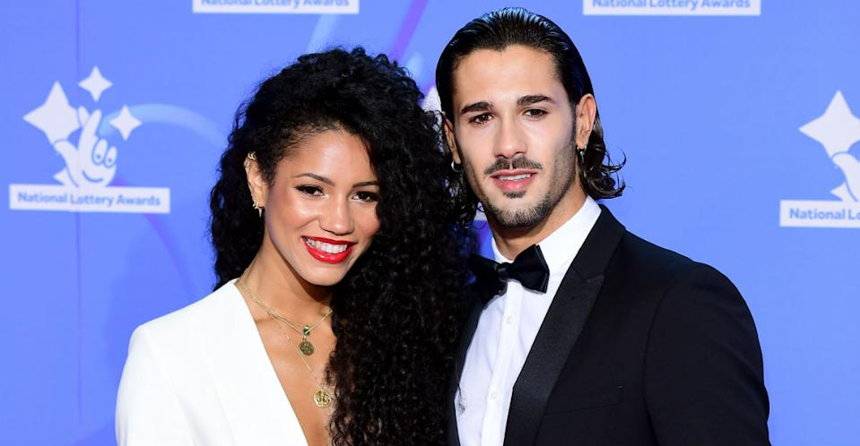 Graziano was paired with radio DJ Vick Hope on Strictly in 2018 (Photo by Ian West/PA Images via Getty Images)