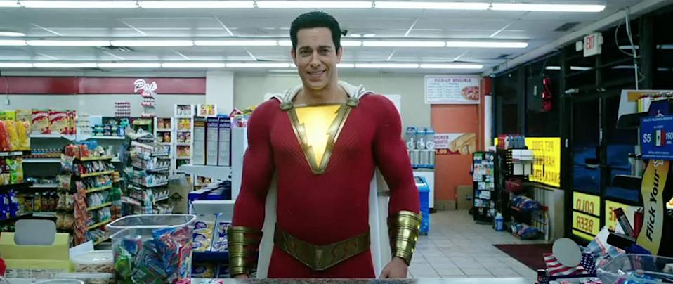 Shazam arrives in cinemas this weekend (credit: Warner Brothers)