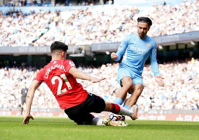 Southampton proved tough opposition for the champions