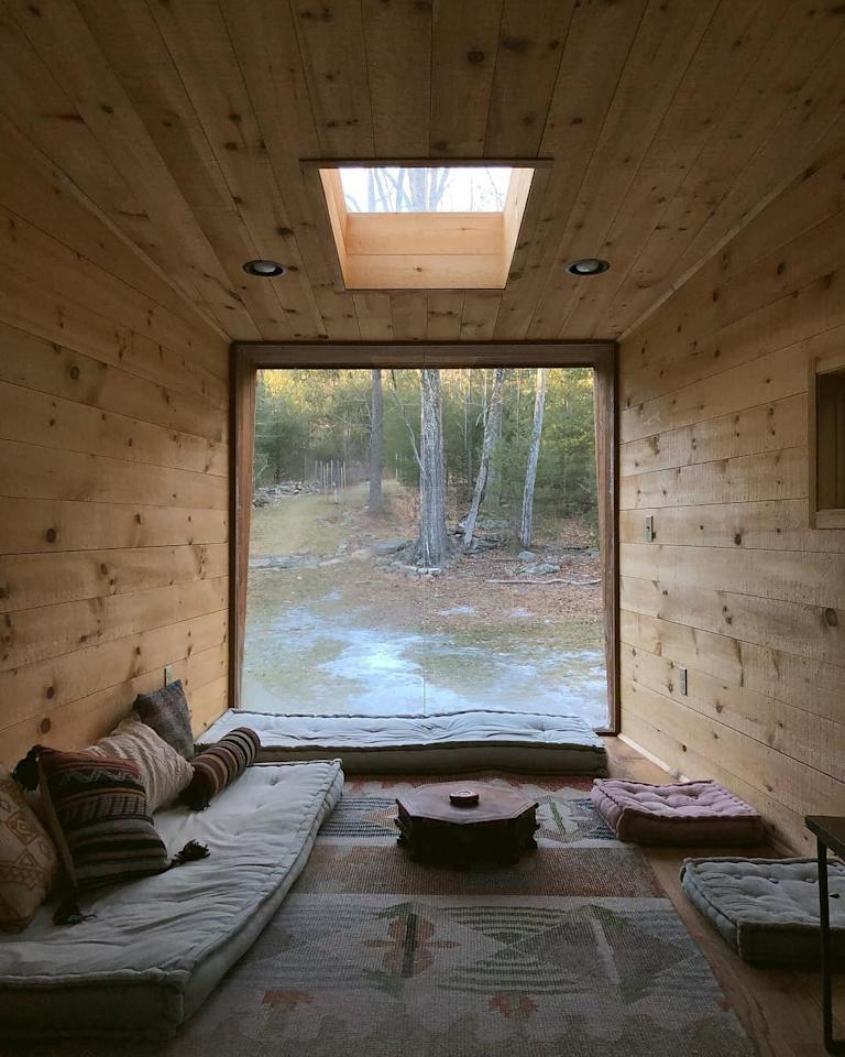 <p>Airbnb is a goldmine when it comes to unusual travel spots. For instance, this image was taken inside a modern treehouse near Woodstock in New York. Unsurprisingly, it soon earned 70,000 likes. <em>[Photo: Airbnb] </em> </p>