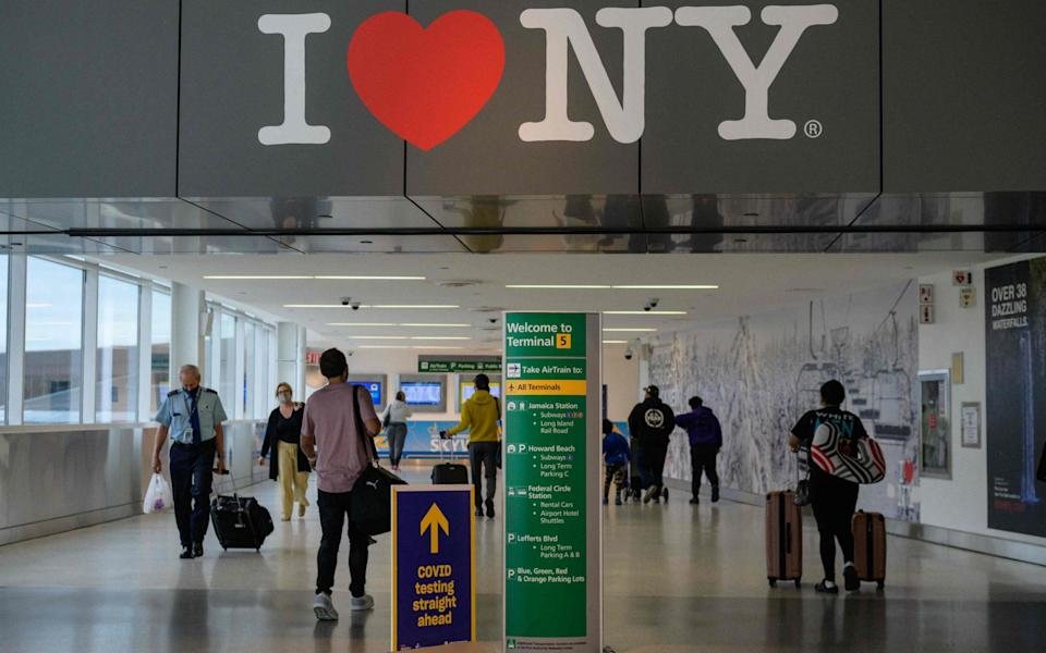 Could New York trips be back on the horizon? - AFP