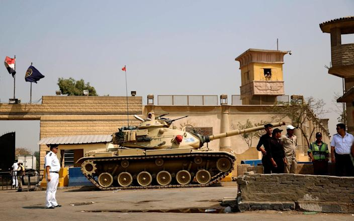 The spree of executions followed a prison break attempt from Cairo's Tora prison in September, Amnesty said - Hassan Ammar/AP